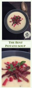 Delicous Potatoe Cream Soup with Marjoram; best greetings from Mamunche.com