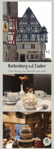Delicious Snowballs in Rothenburg ob der Tauber, Greetings from Mamunche